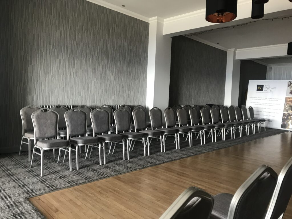 The Knowes Hotel and Restaurant Aberdeenshire Function Hall Theatre Seating