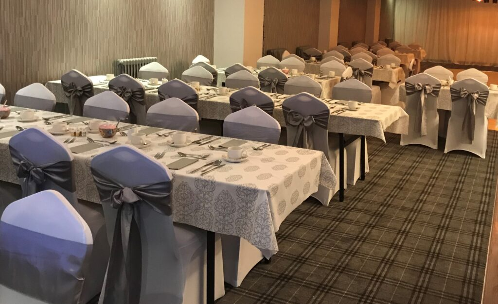 The Knowes Hotel and Restaurant Aberdeenshire Wedding Function Suite